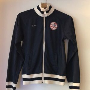 Nike Yankee Navy Blue Fan Jacket